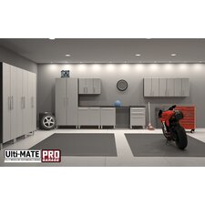 <strong>Ulti-MATE</strong> Garage PRO 12-Piece 27' Classic Storage System w/Work Station