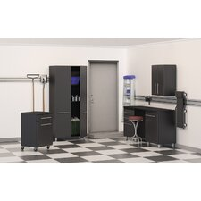 Garage 7' H x 13' W x 2' D 6-Piece Cabinet Set