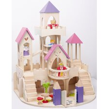 Fairy Tale Castle and Figure Set