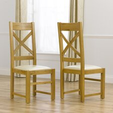 Canterbury Solid Oak Dining Chair (Set of 2)