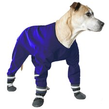 <strong>Muttluks</strong> Dog Jog Rainsuit in Blue