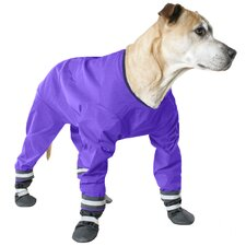 Dog Jog Rainsuit in Purple