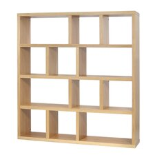 "Berlin 4 Level 63"" Shelf Bookcase"