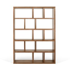 "Berlin 5 Level 78"" Shelf Bookcase"