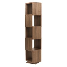 Shell Tall Rotating Shelving Unit