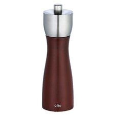 15 cm Milano Cherry Stained Salt and Pepper Mill Set
