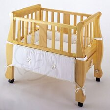 Sleigh Bed Co-Sleeper Bassinet