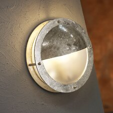 Malte Eyelid 1 Light Flush Wall Light