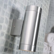 Tin Maxi Up and Down 2 Light Semi-Flush Wall Light