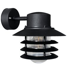 Vejers Down 1 Light Semi Flush Wall Light