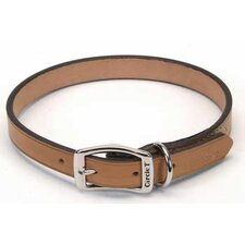 Pet Oak Tanned Leather Collar in Tan