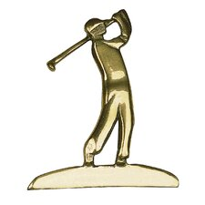 Golfer Medallion
