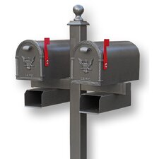 Medium Belmont Post Mounted Mailbox