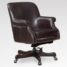 <strong>Lazzaro Leather</strong> Leather Office Chair with Arms