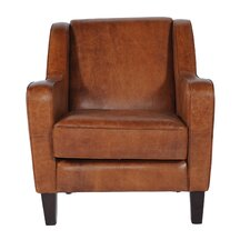 <strong>Lazzaro Leather</strong> Club Chair