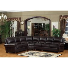 <strong>Lazzaro Leather</strong> Leather Sectional