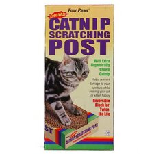<strong>Four Paws</strong> Catnip Scratching Post Extra Wide