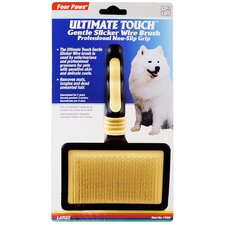 Ultimate Touch Gentle Slicker Wire Brush for Small Dogs