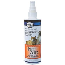 Pet Aid Medicated Anti Itch Spray - 8 oz.