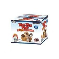 Wee Wee Pads Puppies Pet Training - 150 Count Bulk