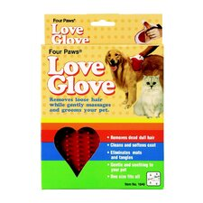 Dog Love Glove Grooming Mitt