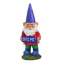 Gnomes with Attitude - Bite Me Statue
