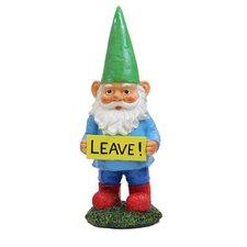Gnomes with Attitude - Leave Statue