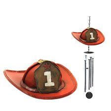 Fireman's Hat Wind Chime