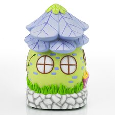 Glow Anywhere LED Fairy House Statue