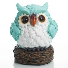 Glow Anywhere LED Owl Statue