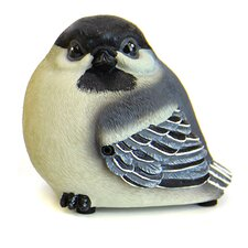 Audubon Chickadee Bird Statue with Voice Chip