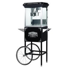 <strong>Great Northern Popcorn</strong> Lincoln 8 Ounce Antique Popcorn Machine with Cart