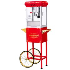 8 oz All-Star Popcorn Machine and Cart