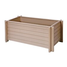 <strong>New Age Garden</strong> ecoFLEX Rectangular Planter