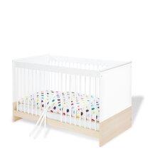 """Kinderbett """"Cube"""" mit 3 Schlupfsprossen und 2 Umbauseiten"""