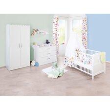 """3-tlg. Kinderzimmer Set """"Viktoria"""" in Weiß"""