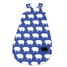 "70cm Sommer-Kugelschlafsack ""Happy Sheep"" in Blau"