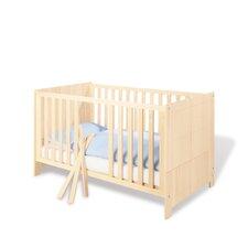 """Kinderbett """"Nick"""" mit 3 Schlupfsprossen und 2 Umbauseiten"""