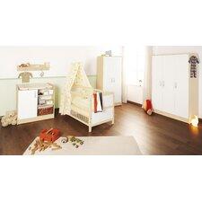 """3-tlg. Kinderzimmer Set """"Florian"""" in Cremeweiß"""