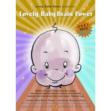 <strong>Lovely Baby Music</strong> Lovely Baby Brain Power CD (Set of 4)
