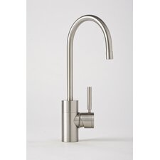Parche One Handle Single Hole Bar Faucet with Built-In Diverter and Lever Handle