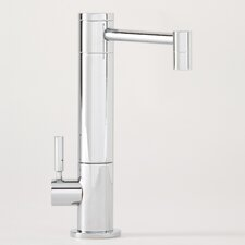 Hunley One Handle Single Hole Cold Water Filtration Faucet with Lever Handle