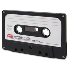 Dictation Cassette, Standard, 90 Minute