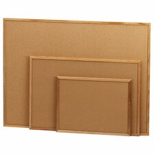 Cork Board, Wood Frame, Various Sizes