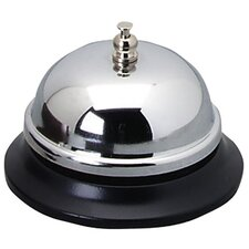 Sparco Nickel Plated Call Bell, Silver