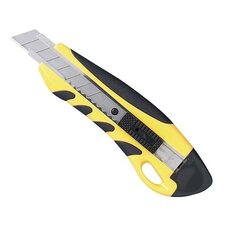 PVC Grip Knife, Stainless Steel Chamber, Yellow/Black