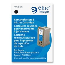 Inkjet Cartridge, f/Epson Color 777 Printer, 500 Pg Yld, Black
