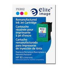 <strong>Elite Image</strong> Ink Cartridge, for HP Deskjets, 230 Page Yield, Tri-Color