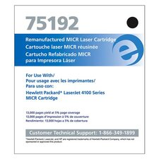 Micr Toner Cartridge, 10000 Page Yield, Black