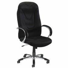<strong>Lorell</strong> Airseat Series High-Back Executive Chair with Arms